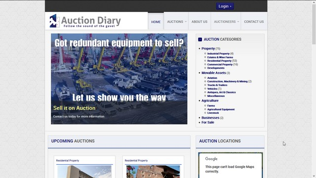 Auction Diary