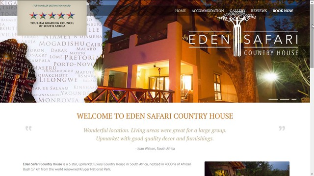 Eden Safari Country House